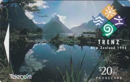 New Zealand, NZ-E-016, 1994 Trenz, Landscape, Mint, 2 Scans. - New Zealand