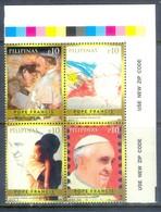 H163- Philippines Philippinen Filipinas 2015 Pope Francis Papa Francesco Visit. - Philippines