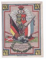 Strasburg ,- Stretesand , Schleswig Holstein - 40 Pfennig - Einzelschein  - NG-172 - [11] Local Banknote Issues