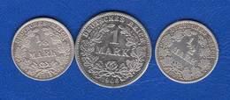 All 3 Pieces - [ 2] 1871-1918 : German Empire