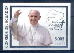 H180- ECUADOR 2015. POPE FRANCISCO VISIT TO ECUADOR. - Ecuador