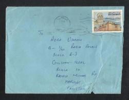 United Arab Emirates Air Mail Postal Used Cover Abu Dhabi UAE To Pakistan - Abu Dhabi