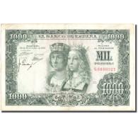 Billet, Espagne, 1000 Pesetas, 1957, 1957-11-29, KM:149a, TB+ - [ 3] 1936-1975 : Régence De Franco