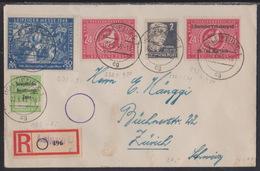 Soviet Zone, Registered Cover From Leipzig, 1949 - Sowjetische Zone (SBZ)