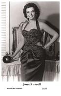 JANE RUSSELL - Film Star Pin Up PHOTO POSTCARD - 21-66 Swiftsure Postcard - Artistes