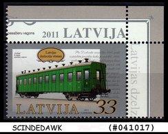 LATVIA - 2011 History Of Latvian Railways - 1V - MINT NH - Trains