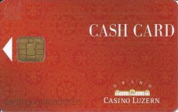 Grand Casino Luzern Cash Card With Smart Chip - Casino Cards
