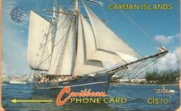 Cayman Island - CAY-8B, GPT, 8CCIB, Sailing Ship, 10$, 30,000ex, 1994, Used - Kaaimaneilanden