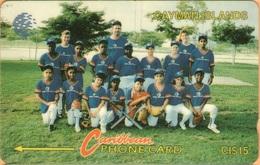 Cayman Island - CAY-8D, GPT, 8CCID, Baseball Team, 15$, 20,000ex, 1994, Used - Kaaimaneilanden