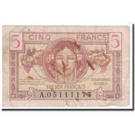 France, 5 Francs, 1947, B, Fayette:VF29.1, KM:M6a - Tesoro