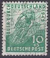 GERMANIA, OCCUPAZIONE, BIZONA - 1949 - Yvert 74 Usato, Come Da Immagine. - Zona Anglo-Americana