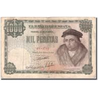 Billet, Espagne, 1000 Pesetas, 1946, 1946-02-19, KM:133a, TB - [ 3] 1936-1975 : Régence De Franco