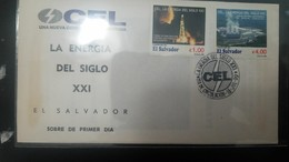 O) 1999 EL SALVADOR, GEOTHERMIC ENERGY ENERGY SCOTT A510-DRILLING TOWER - POWER STATION - CEL, FDC XF - El Salvador