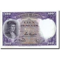Billet, Espagne, 100 Pesetas, 1931, 1931-04-25, KM:83, SPL - [ 2] 1931-1936 : Repubblica