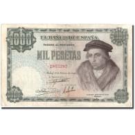 Billet, Espagne, 1000 Pesetas, 1946, 1946-02-19, KM:133a, TB+ - 1000 Pesetas