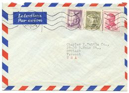 Czechoslovakia 1959 Airmail Cover Prague - Dilia, Czechoslovak Theatrical & Literacy Agency - Czechoslovakia