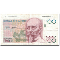Billet, Belgique, 100 Francs, 1982, KM:142a, TTB - [ 2] 1831-... : Belgian Kingdom