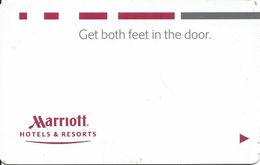 Marriott Hotels & Resorts - Www.plicards.com - Cartes D'hotel