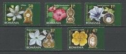 LSJP Romania - MNH - Plants - Flowers - Clocks - 2013 - 1948-.... Républiques