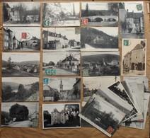 Voutenay-sur-Cure : Lot De 27 CPA Et 2 CPSM (1917 à 1923, ABE à TBE) Voir Les 30 Scans Et Le Descriptif - Autres Communes