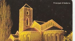 TELECARTE PRINCIPAUTE D'ANDORRA..6E... - Andorra
