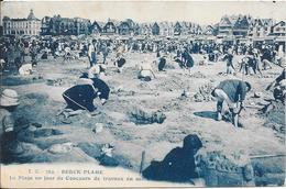BERCK-PLAGE : La Plage Un Jour De Concours De Travaux En Sable - Berck