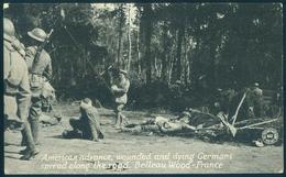 France Belleau Wood American Advance - Germans Dying Spread On Road WW1 UNUSED - 1914-18