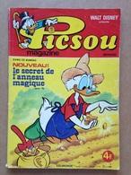 Disney - Picsou Magazine - Année 1976 - N°58 (avec Grand Défaut D'usure) - Picsou Magazine
