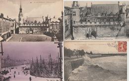 18 / 7 / 184. -  LOT. DE 24. CPA. DE. LA. ROCHELLE. (17 ) -Toutes Scanées - Cartes Postales