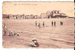 1929 - CALVI-PLAGE : La Plage - Calvi