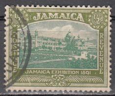 JAMAICA   SCOTT NO. 88    USED   YEAR 1921     WMK-4 - Jamaïque (...-1961)
