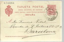 ENTERO POSTAL MATARO - Stamped Stationery