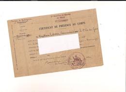 REUNION.... MADAGASCAR.. 1ER BATAILLON DE GENIE DE MARCHE+REVUE ANCIENNE - Diplomi E Pagelle