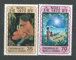 NOUVELLES-HEBRIDES  N°  374/75  **  TB 2 - French Legend