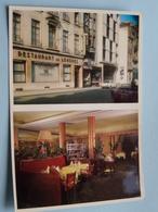 """Restaurant """" Le LONDRES """" Rue De L'Ecuyer BRUXELLES ( Sablon ) Anno 19?? ( Zie Foto ) ! - Cafés, Hôtels, Restaurants"""