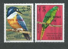 NOUVELLES-HEBRIDES  N°  386/87  **  TB  2 - French Legend