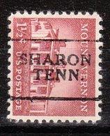 USA Precancel Vorausentwertung Preo, Locals Tennessee, Sharon 701 - Vereinigte Staaten