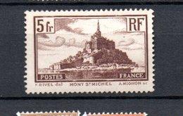 K France N° 260 ** Côte 45 Euros - France
