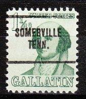 USA Precancel Vorausentwertung Preo, Locals Tennessee, Somerville 704 - Vorausentwertungen