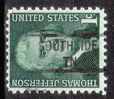 USA Precancel Vorausentwertung Preo, Locals Tennessee, Southside 841 - Vorausentwertungen