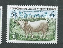 NOUVELLES-HEBRIDES  N°  408  **  TB 3 - French Legend