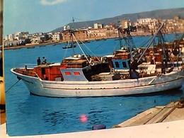 MANFREDONIA PORTO E BARCA PESCA  VB1969 GT2306 - Manfredonia