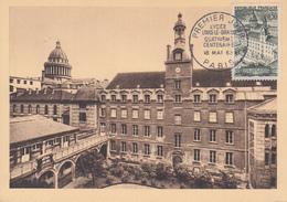 Carte  Maximum  1er  Jour    FRANCE    Lycée   LOUIS  LE  GRAND    PARIS   1963 - Cartes-Maximum