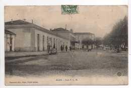 - CPA ALAIS (Alès / 30) - Gare P. L. M. 1925 - Edition Peschaud - - Alès