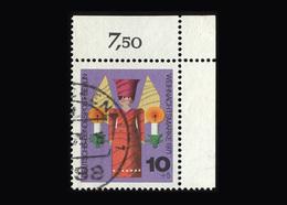 Berlin 1971, Michel-Nr. 417, Weihnachten 1971, Eckrand Oben Rechts, Gestempelt - Berlin (West)