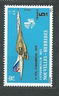 NOUVELLES-HEBRIDES  N°  424  **  TB  3 - French Legend