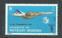 NOUVELLES-HEBRIDES  N°  424  **  TB  4 - French Legend