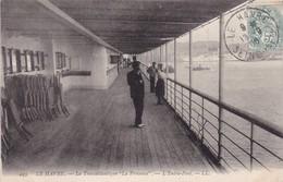 76 / LE HAVRE / LE TRANSATLANTIQUE / LA PROVENCE / L ENTRE PONT / LL 445 - Harbour