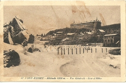 Font Romeu Vue Generale Grand Hotel - Autres Communes