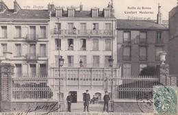 76 / DIEPPE / HOTEL DE LA PLAGE / SALLE DE BAIN / TERRASSE ET JARDIN / MARCHAND 1385 / RARE - Dieppe